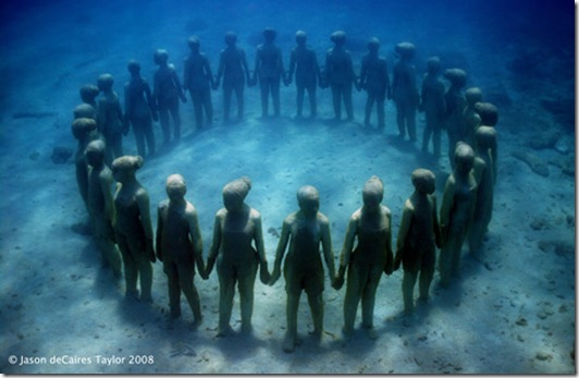World's Largest Underwater Museum in the Riviera Maya, Mexico