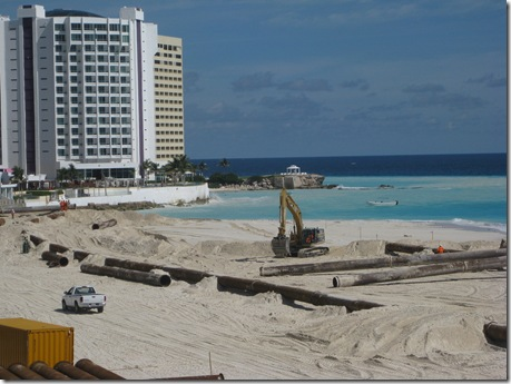 Cancun & Riviera Maya More on the beach recovery