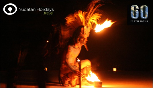 Yucatan Holidays and the Earth Hour 2010