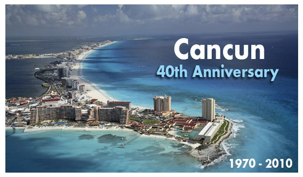 Cancun celebrates its 40th Anniversary
