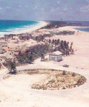 In early 70s Cancun was just a fishermens' village.