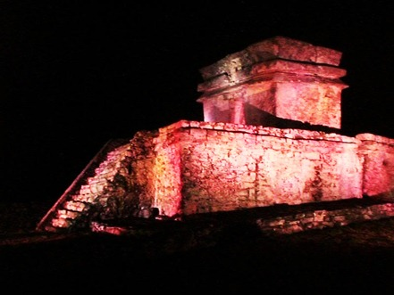 Tulum The Magic by Night