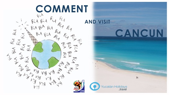 Comment your way to Cancun