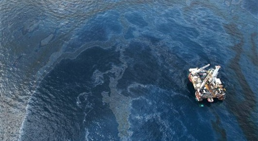 BP Oil Spill in the Gulf of Mexico.