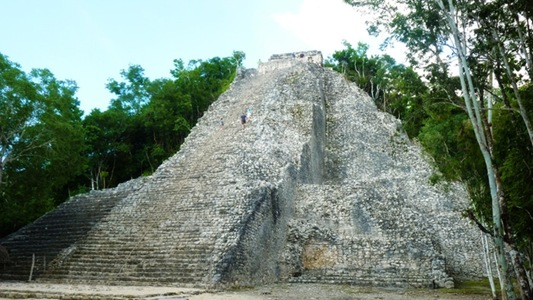 Mexico Mayan Ruins of Coba Traveling back in time