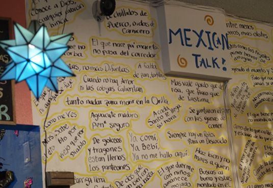 Learn to talk Mexican!