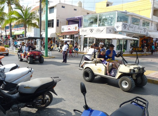 Golf Carts in the island