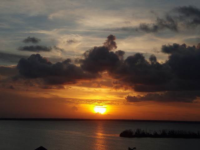 Sunset Cancun