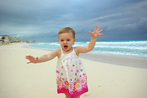 baby beach Cancun