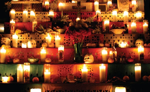 halloween celebration day of the dead