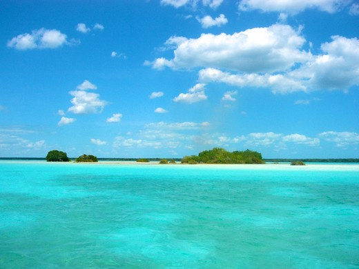 Lake of Seven Colors Bacalar