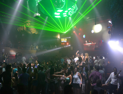 nightclubs Cancun