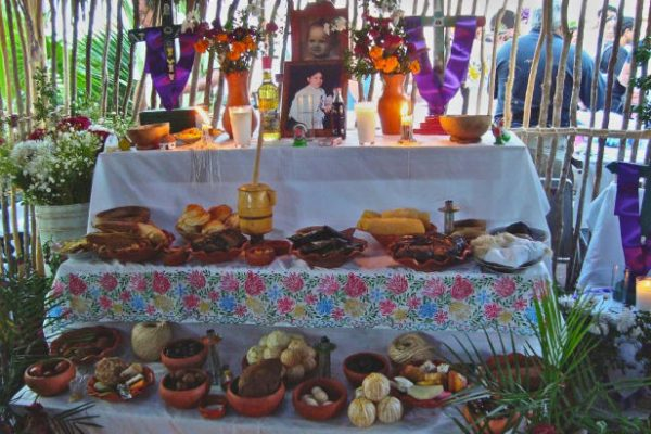 Mayan Hanal Pixan Altar Day of the Dead