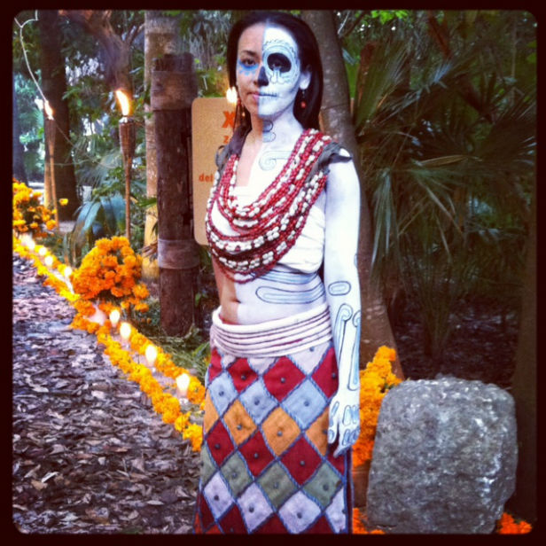 Xcaret park Life and death festival